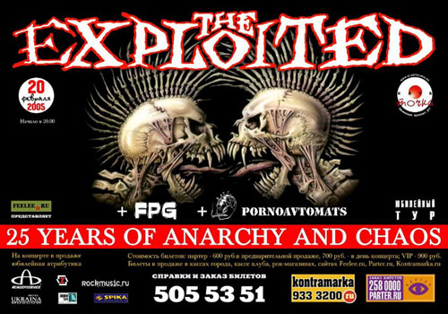 The Exploited - 25 Years of Anarchy and Chaos